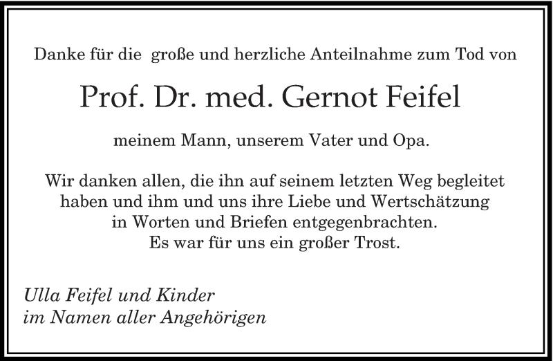 Traueranzeige für Gernot Feifel vom 30.03.2019 aus saarbruecker_zeitung